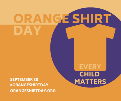 Today is Orange Shirt Day