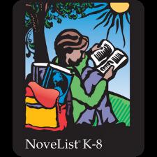 webpage image with Novelist K-8 Logo